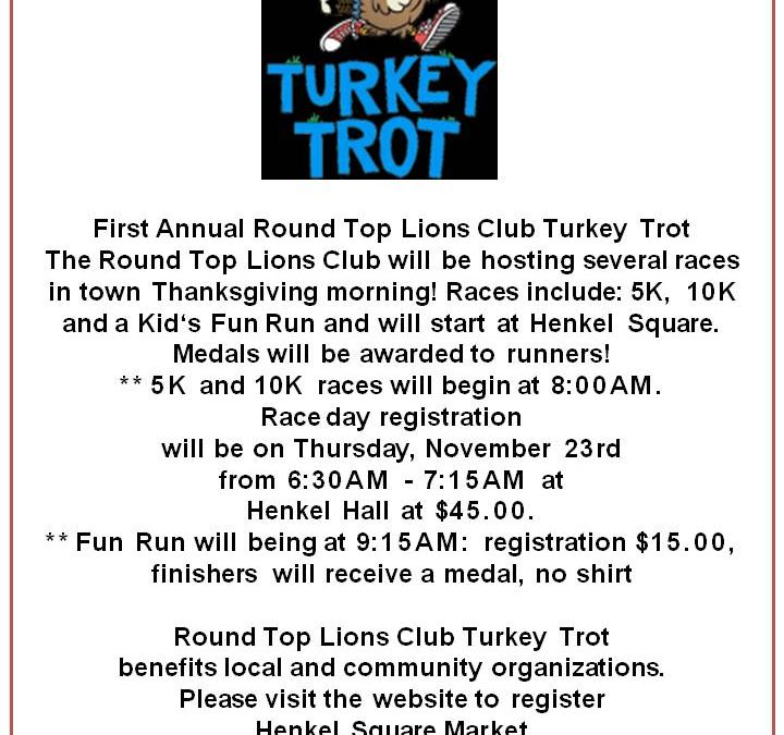 Lions Club Turkey Trot